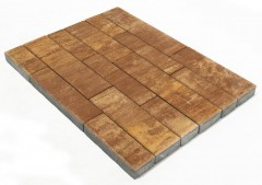Тротуарная плитка ДОМИНО COLOR MIX «Тип 1 Каньон»